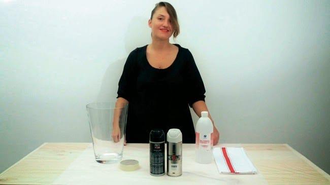 Nuestros v deo tutoriales efecto piedra sobre cristal con - Aerosol efecto piedra ...