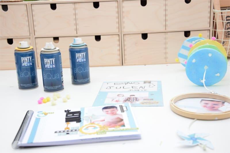 Mobile décoratif personnalisé avec Pintyplus Aqua