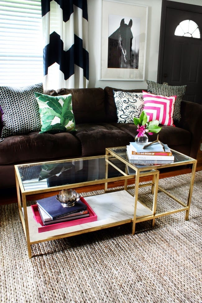 Ikea-Hack-Gold-Spray-Paint-VITTSJO-Nesting-tables