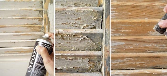 Decapante en spray sobre madera shakingcolors for Decapante para madera