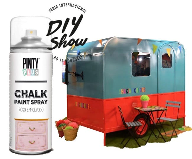 diy chalk paint spray
