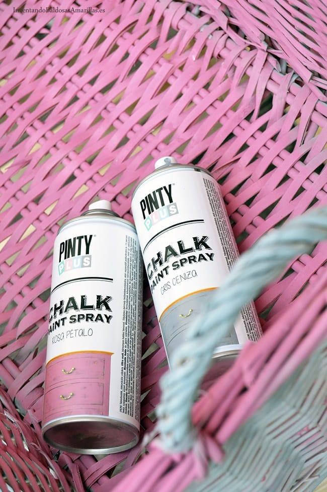 pintura spray mimbre