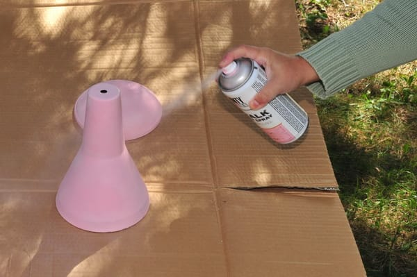 pintar lampara spray 4