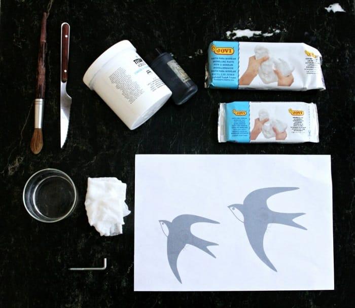 Pintar pasta de modelar 2