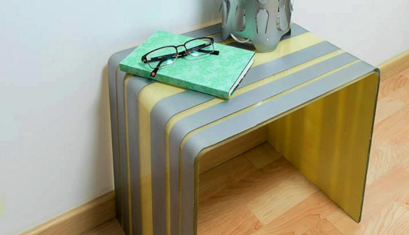 C mo pintar una mesa de metacrilato shakingcolors - Mesas de metacrilato ...