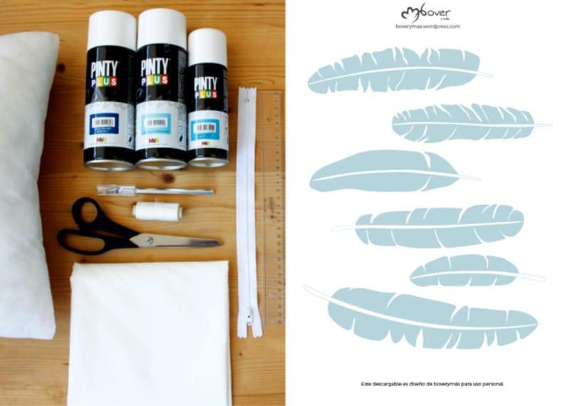 Estampar tela con pintura en spray shakingcolors - Pintura con spray ...