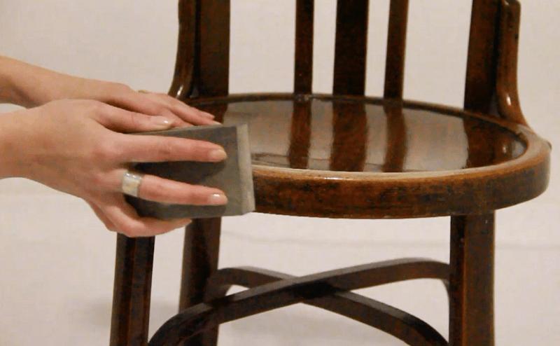 Pintamos una silla con spray shakingcolors - Pintar sillas de madera ...