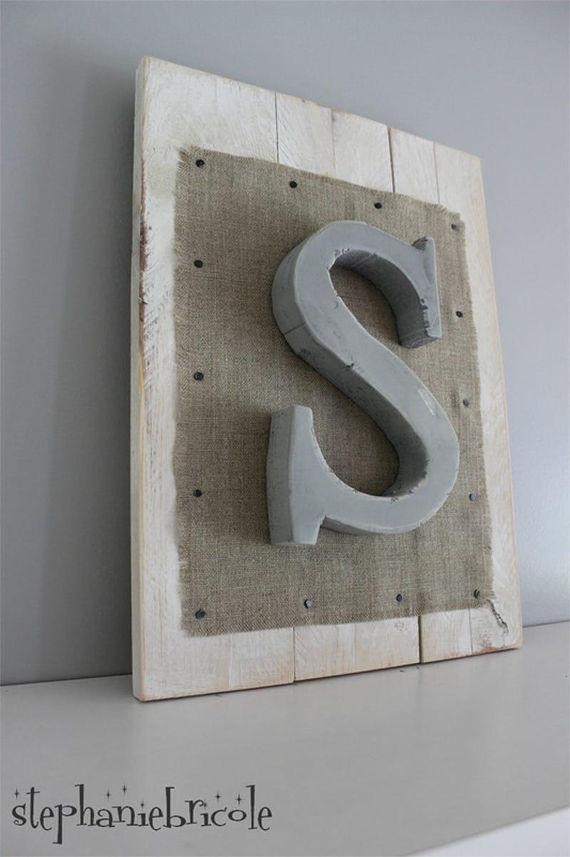 pintar letras de poliestireno