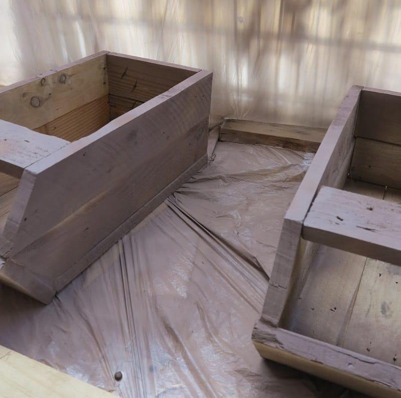 Acabado de madera envejecida con chalk paint pintyplus 1
