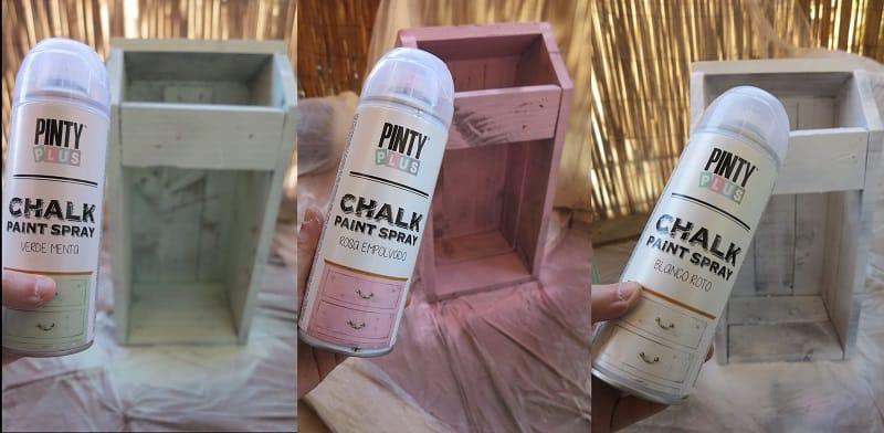Acabado de madera envejecida con chalk paint pintyplus 2