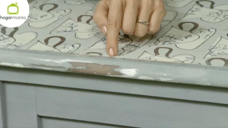 Mueble efecto tiza con spray Pintyplus en Decogarden 10
