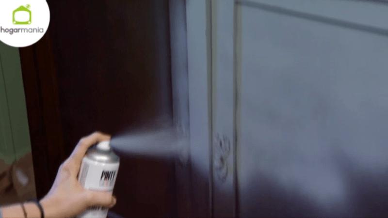 Mueble efecto tiza con spray Pintyplus en Decogarden 2