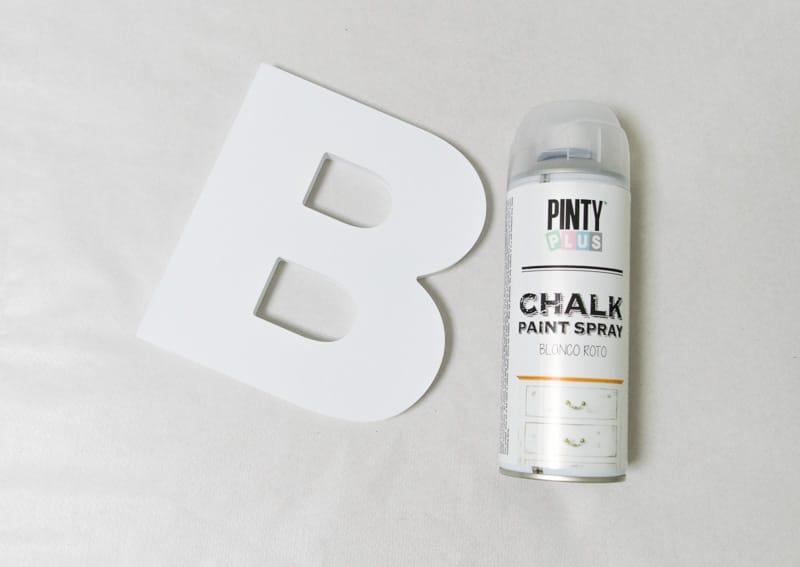 Marmoleado sin agua pintyplus chalk spray paint blanco roto