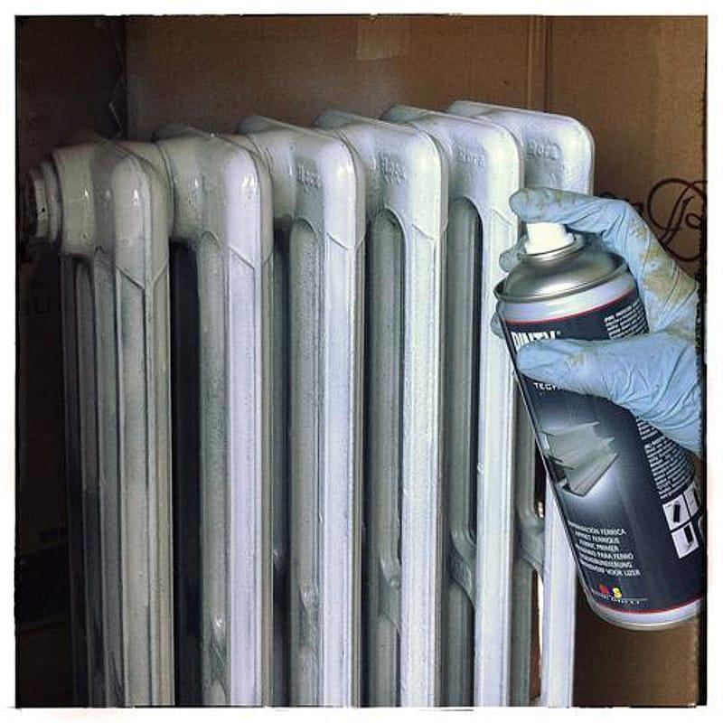 C mo restaurar y pintar un radiador de hierro fundido en 3 - Como pintar un radiador ...