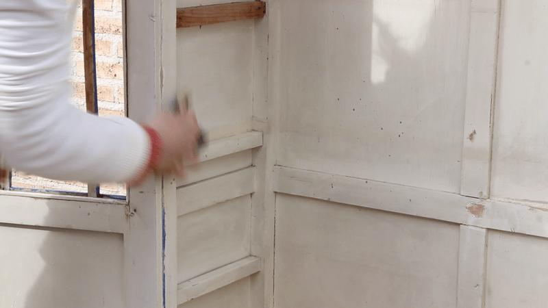 limpiar armario antes de pintar