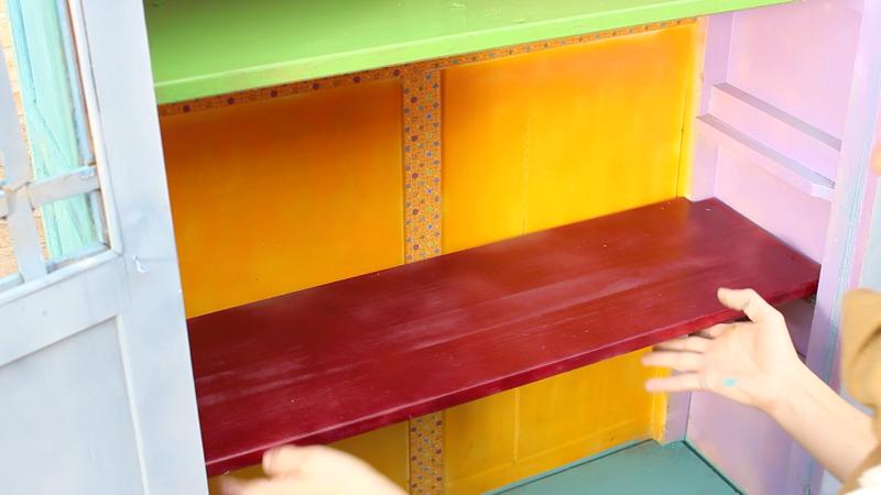 armario reciclado con pintura en spray Pintyplus