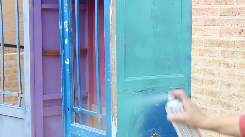 pintar armario con pintura en spray Pintyplus