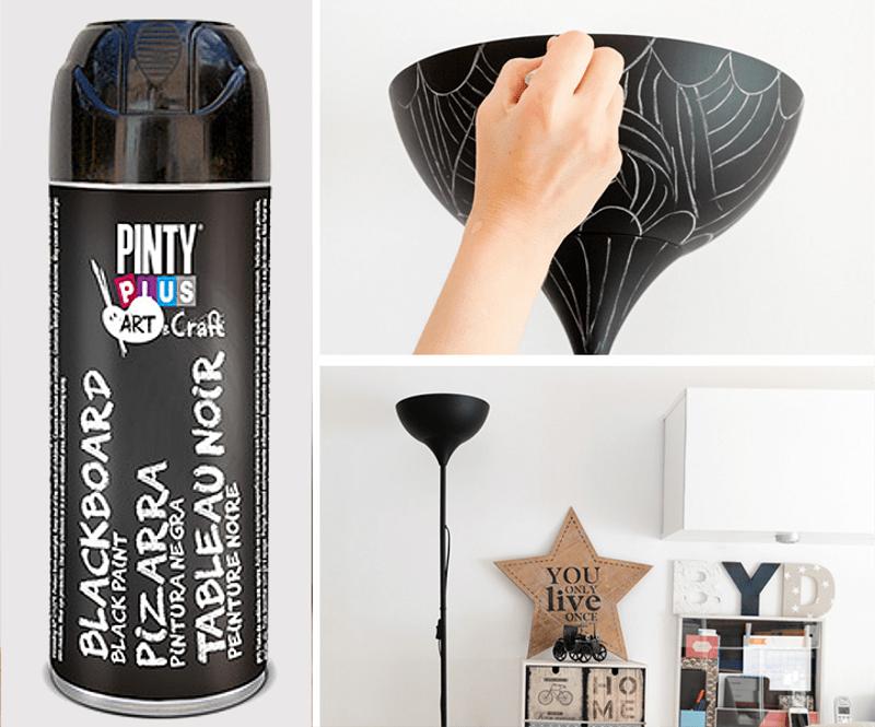 pintura pizarra spray pintyplus
