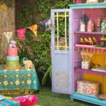 Transformar un armario para una fiesta Bollywood