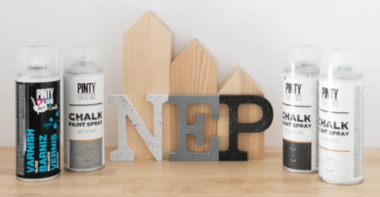 3 efectos granito distintos con pintura en spray Pintyplus