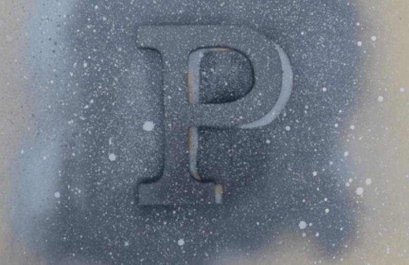 efecto granito negro con pintura en spray pintyplus