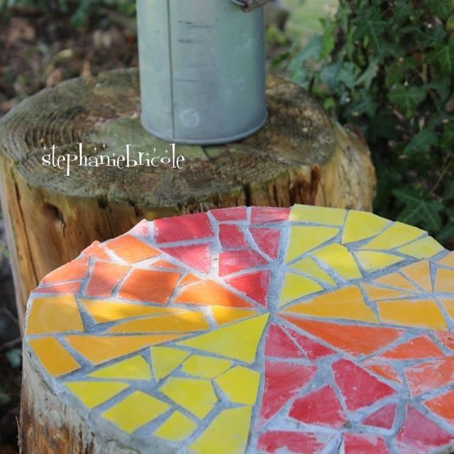 C mo reciclar baldosas con pintura en spray y hacer un - Pinturas para baldosas ...