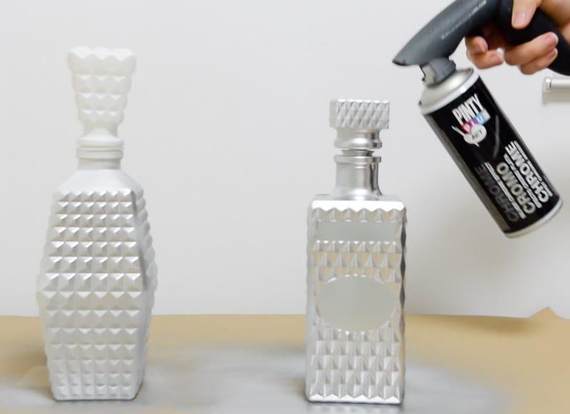 decorar-vidrio-con-efecto-metalizado-pintura-spray