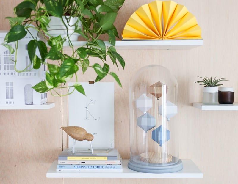 Encerrando colores en una campana de cristal DIY 2