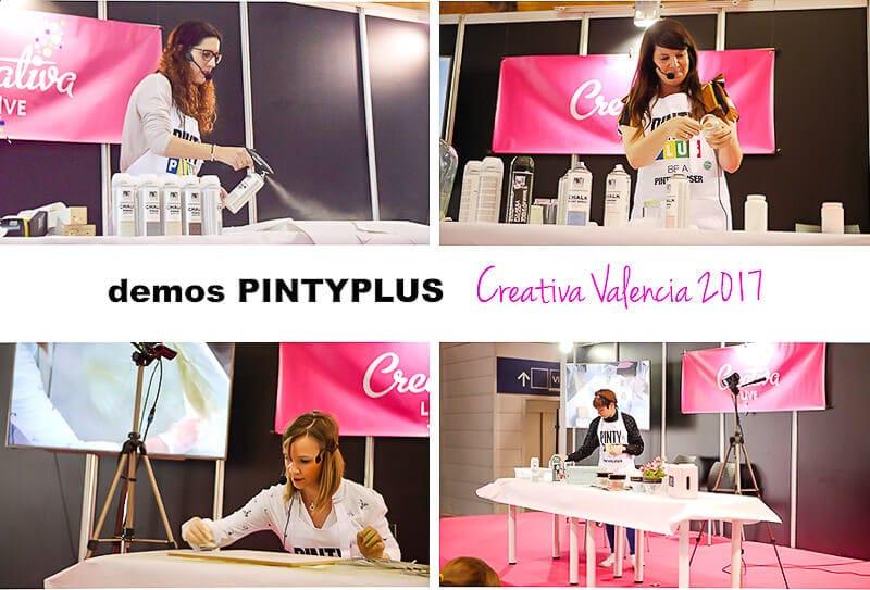 demostraciones Pintyplus en Creativa Valencia 2017