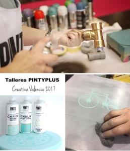 Talleres Pintyplus en Feria Creativa Valencia