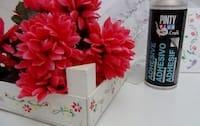 caja de fresas decorada con stencil