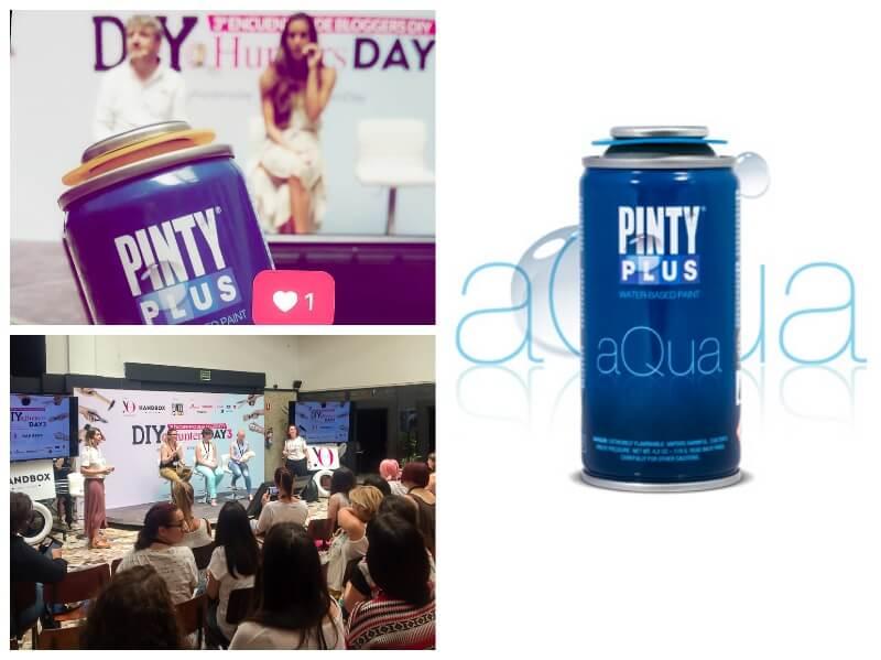 presentación de la nueva gama Pintyplus Aqua en el DIY Hunters Day