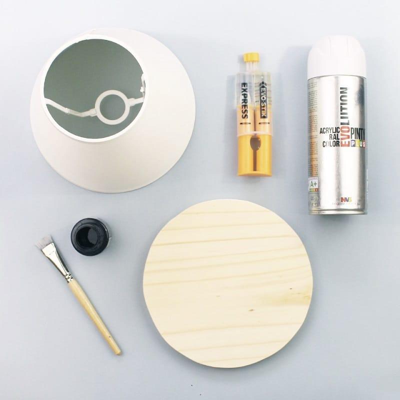 materiales para hacer un soporte para macetas DIY