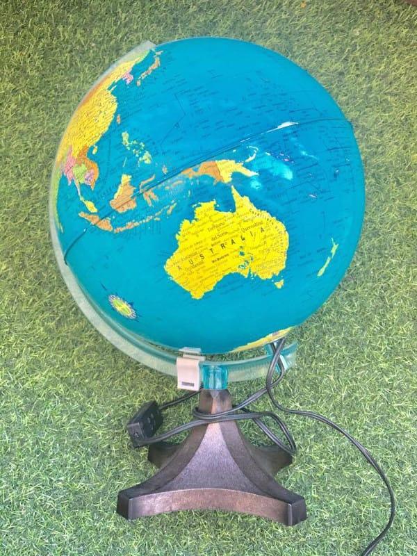 bola del mundo o globo terráqueo