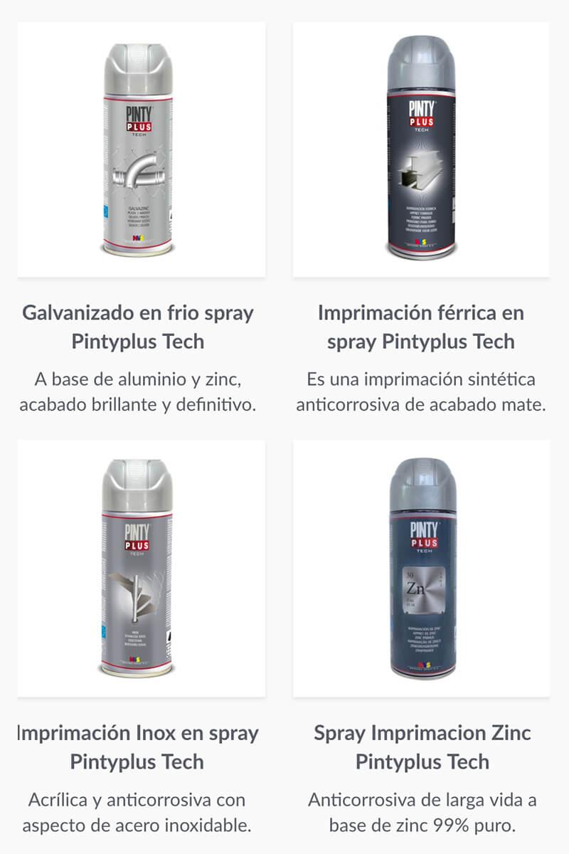 imprimación para metales Pintyplus Tech