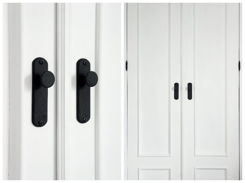 renew doors with wrought iron spray paint