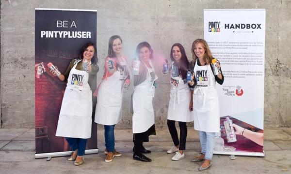 talleres solidarios Pintyplus en Creativa Madrid