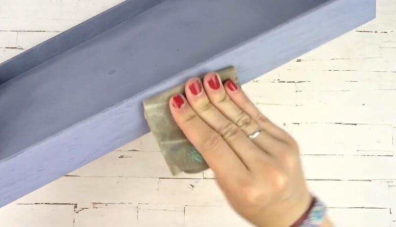 pintar madera aspecto vintage con chalk paint pintyplus