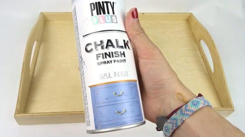 materiales para pintar sobre madera con chalk paint