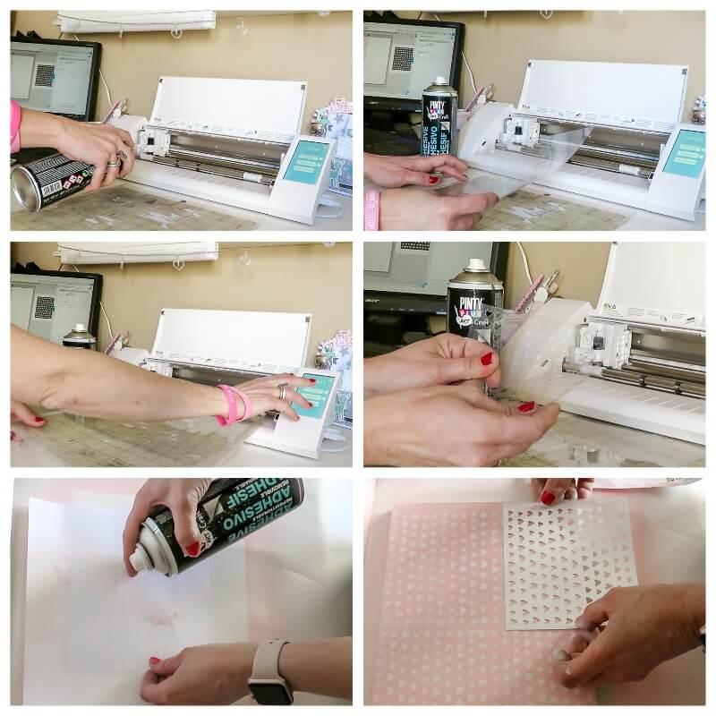 cómo hacer una plantilla de stencil paso a paso