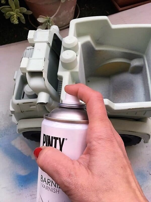 barnizar chalk paint
