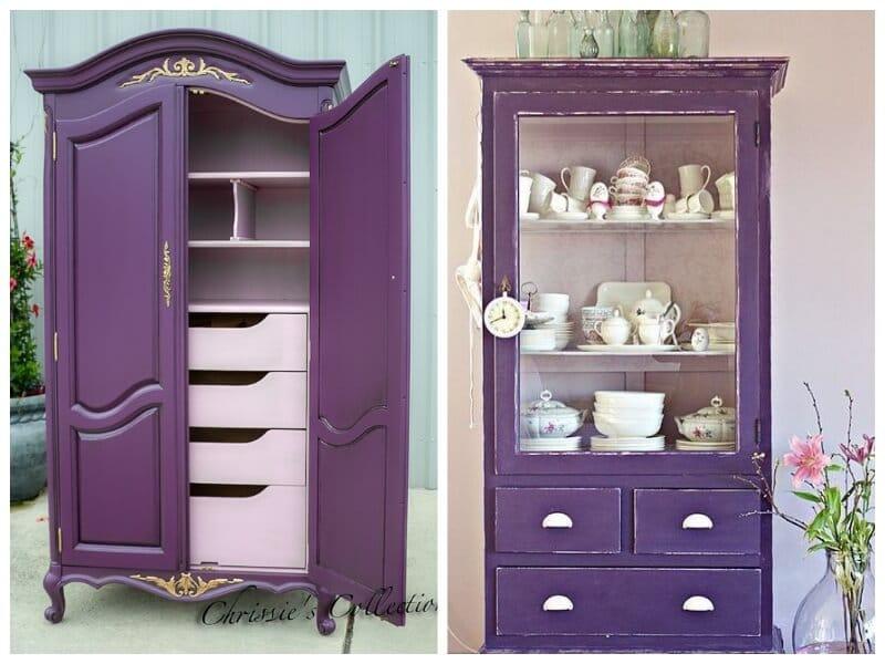ultra violet combinado con rosa