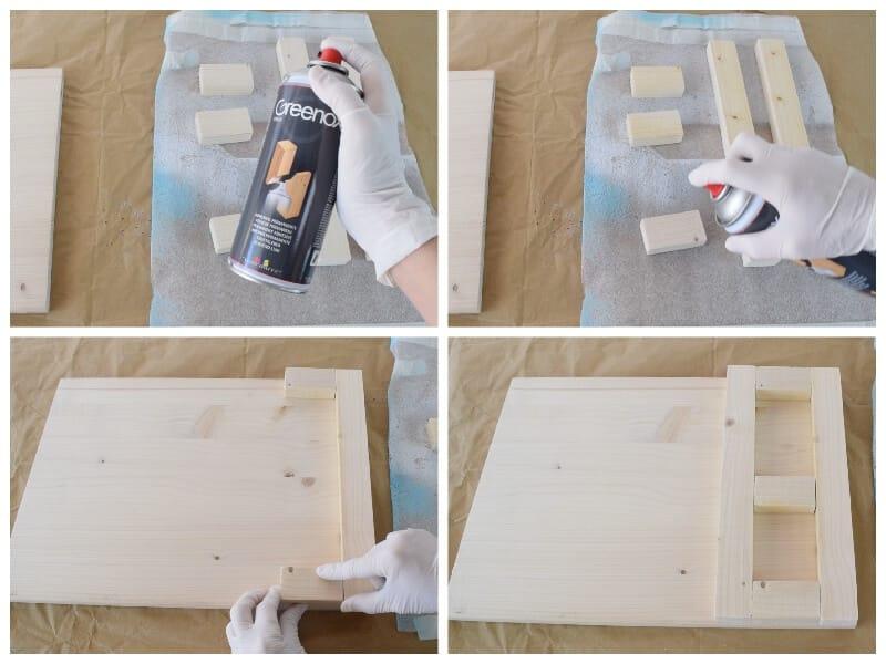 adhesivo en spray para unir madera