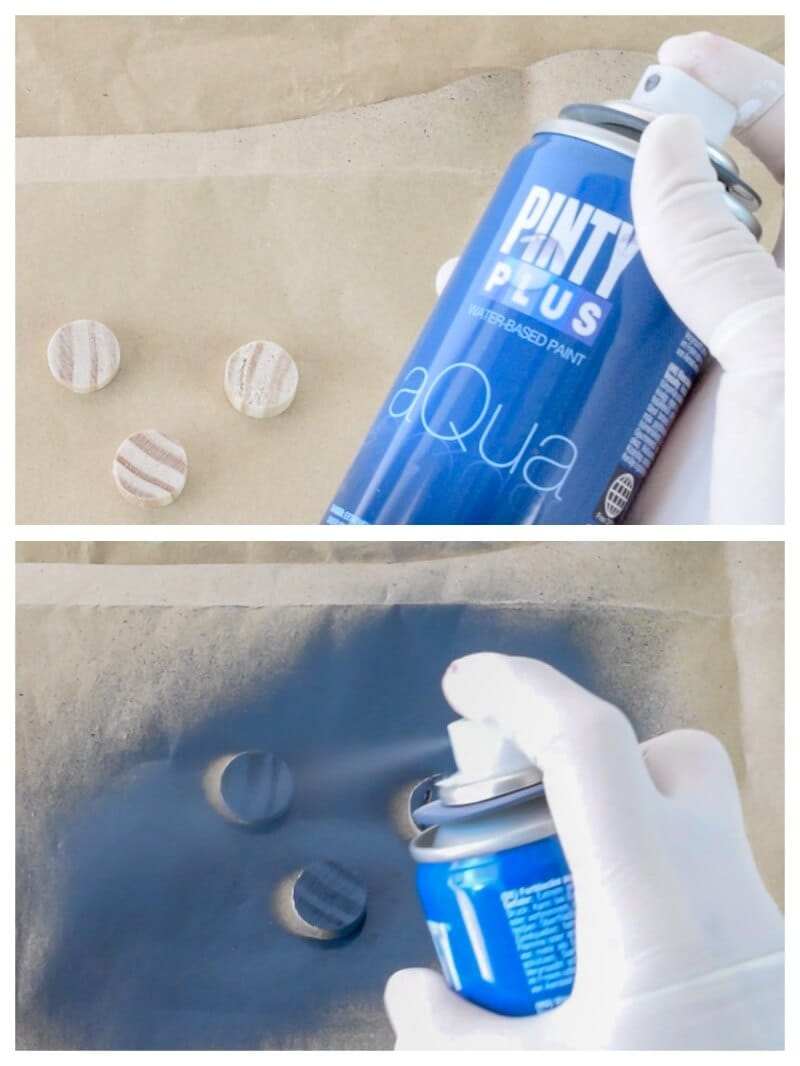 pintar madera con Pintyplus Aqua