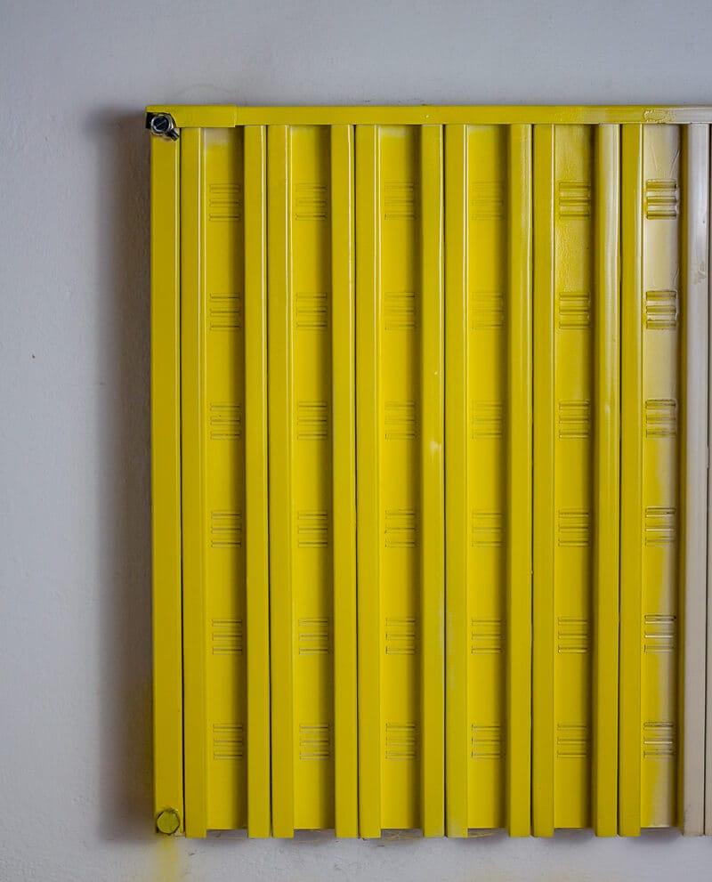 cómo pintar un radiador de pared