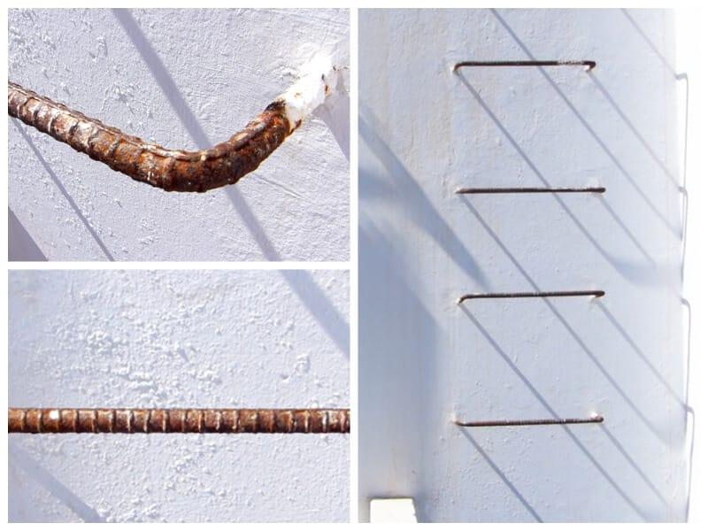 proteger una escalera de metal de la corrosión
