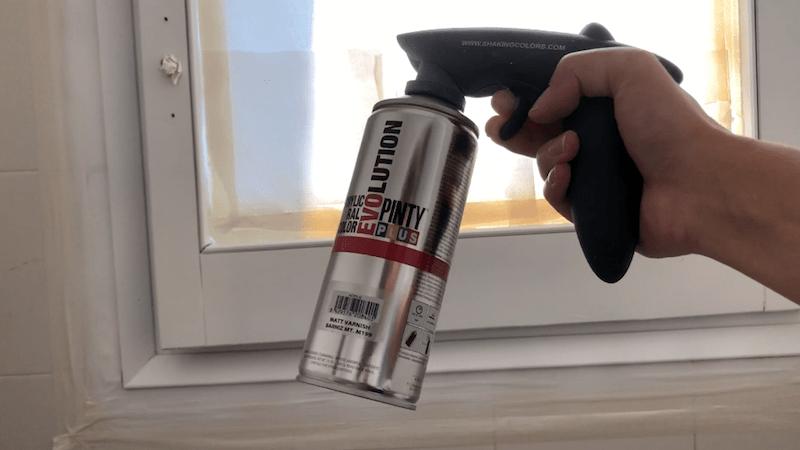 Barnizar la ventana