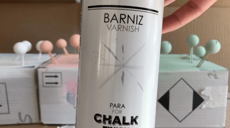 Barnizar con Pintyplus especial chalk