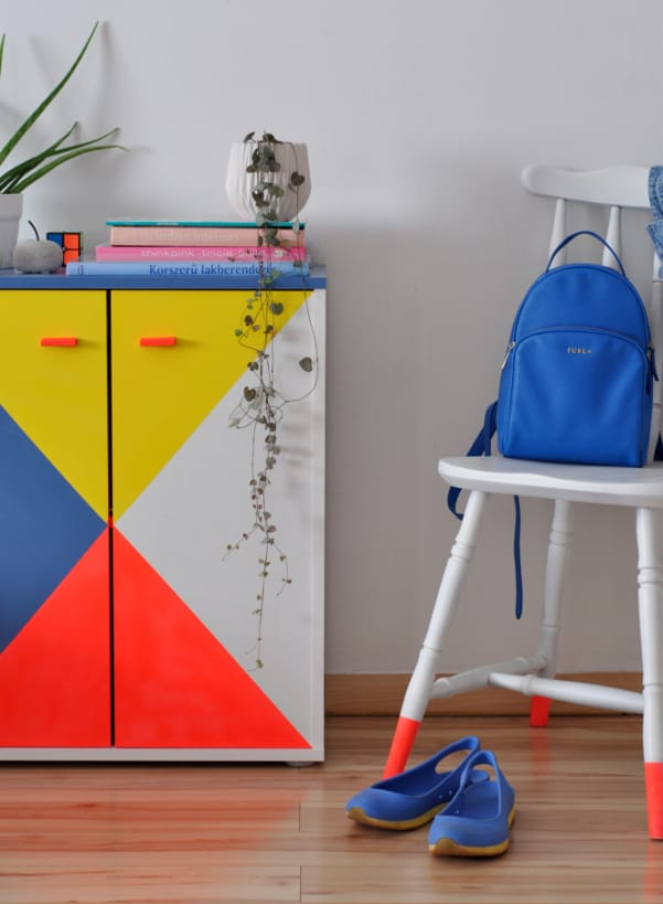 Cómo reciclar y pintar un mueble de melamina - Pintyplus Evolution