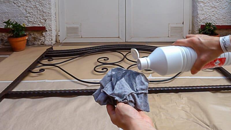 limpiar la superficie antes de pintar